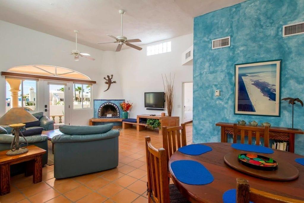 Casa Cabana View of Living Room
