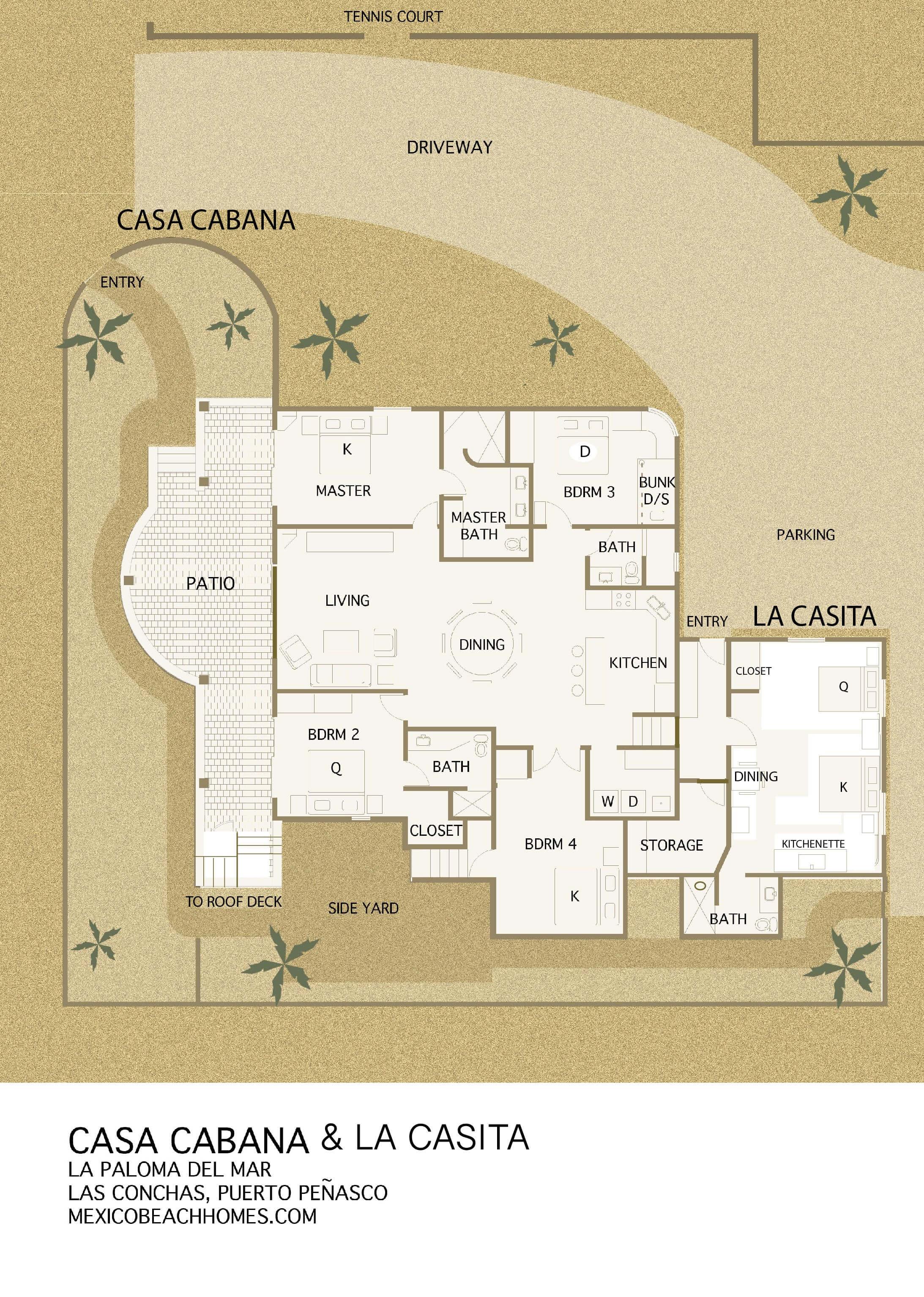 La Mia Casa Group top-rated rocky point rentals | beach homes las conchas