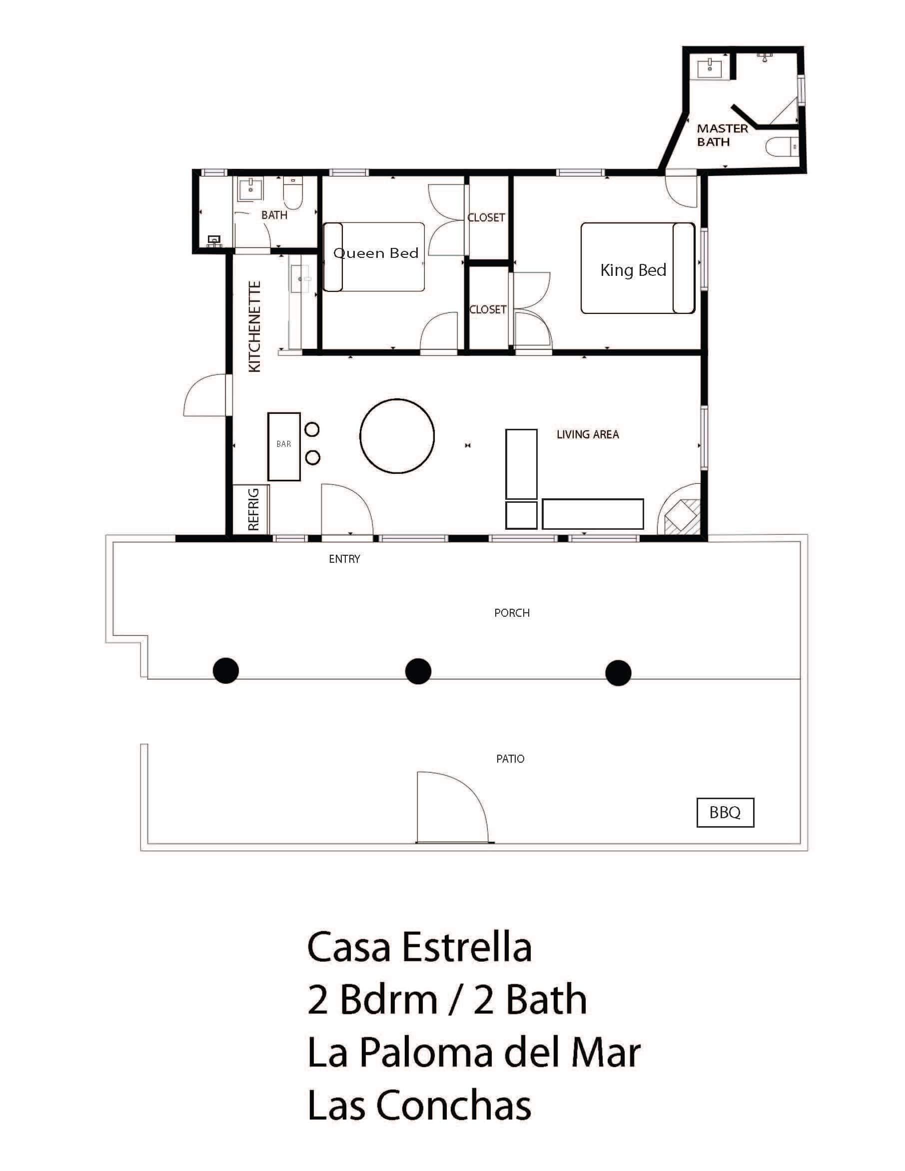 casa estrella floorplan
